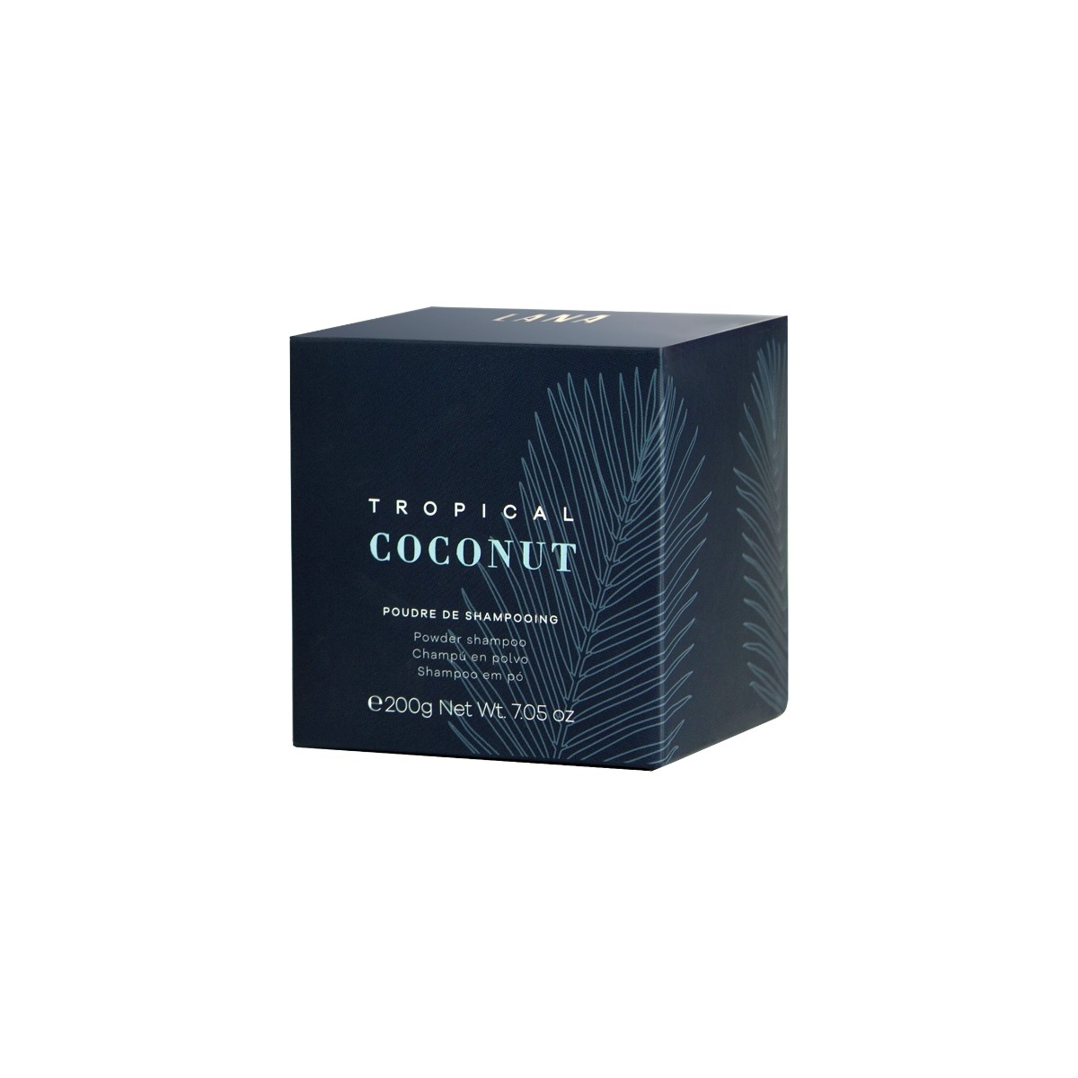 Lana Brasiles - Tropical Coconut Shampoo em Pó 200g