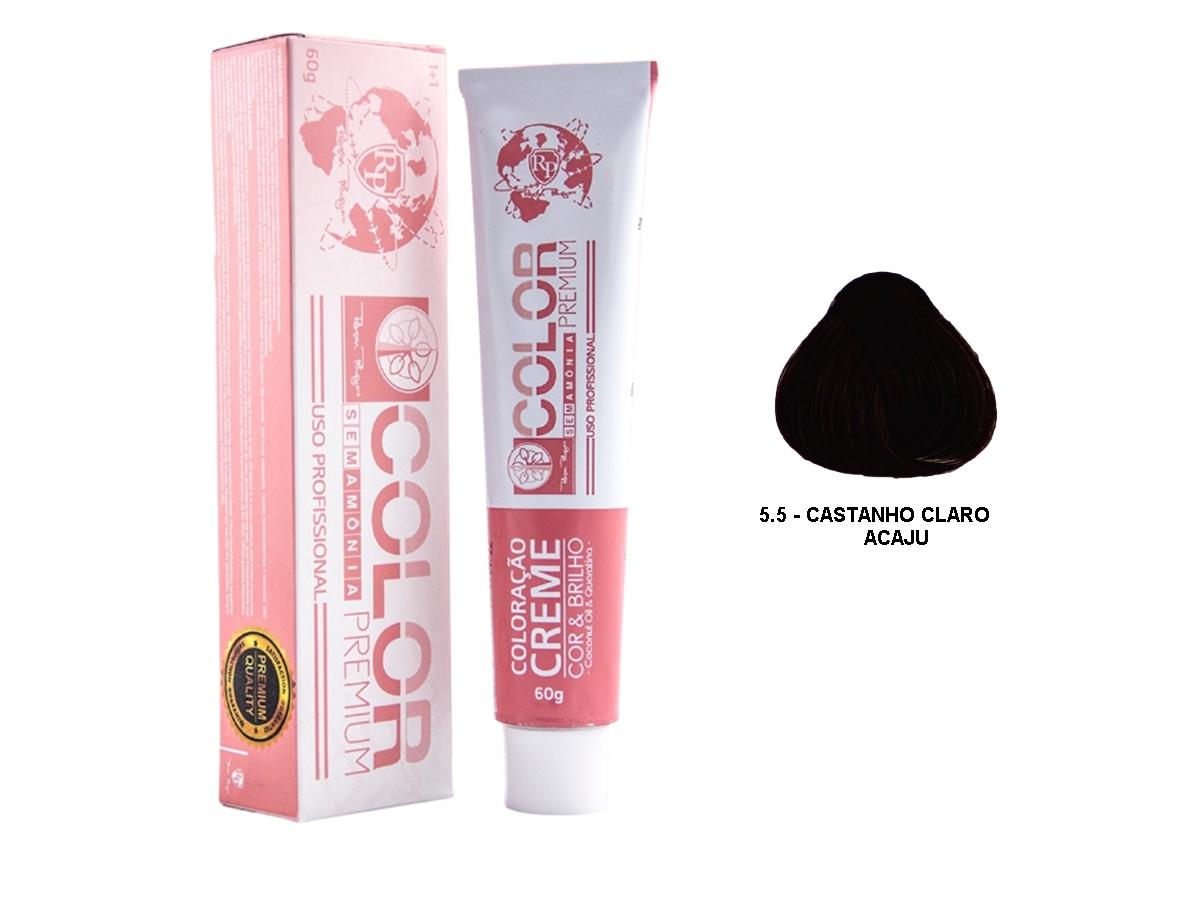 Robson Peluquero  - Color Premium 5.5 Castanho Claro Acaju