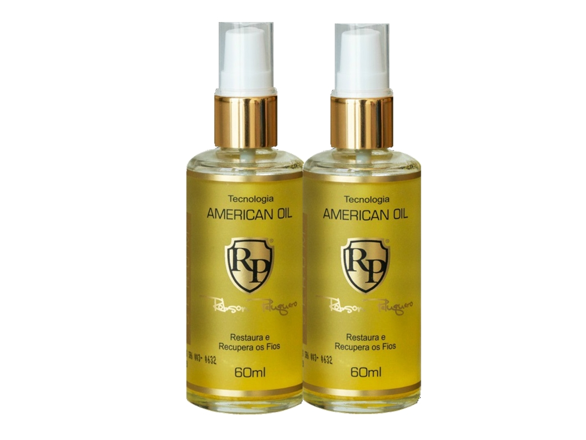 Robson Peluquero - Kit 2 American Oil Serum 60ml