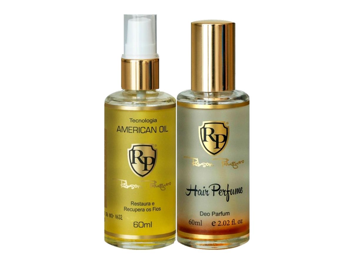 Robson Peluquero - Kit American Oil Serum + Hair Perfume