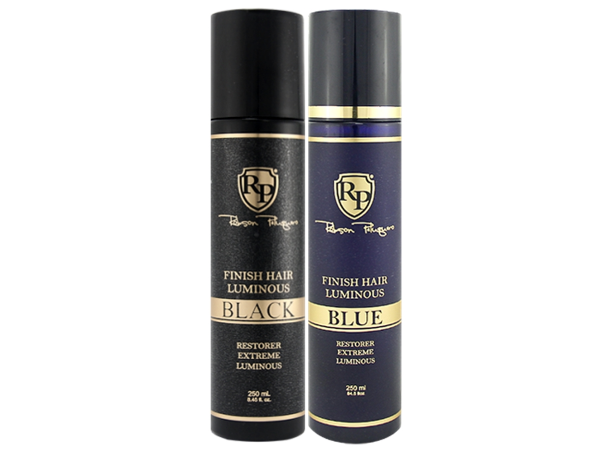 Robson Peluquero - Kit Finish Hair Luminous Blue + Black