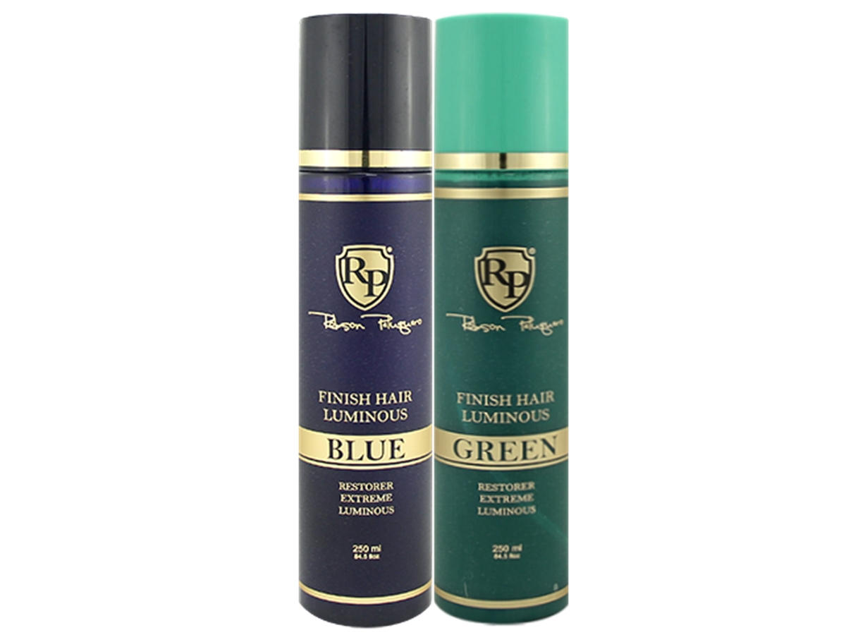 Robson Peluquero - Kit Finish Hair Luminous Blue + Green