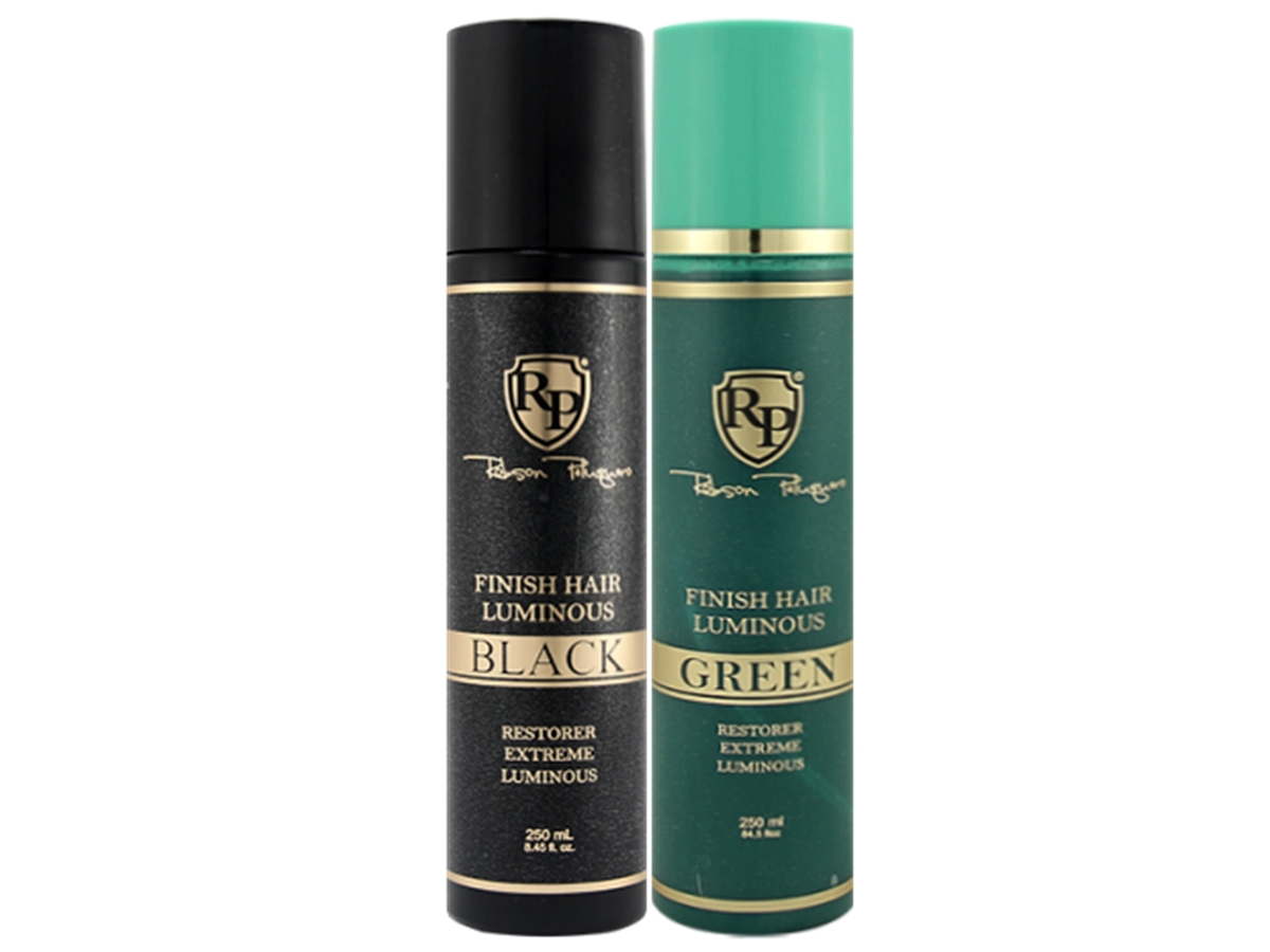 Robson Peluquero - Kit Finish Hair Luminous Green + Black