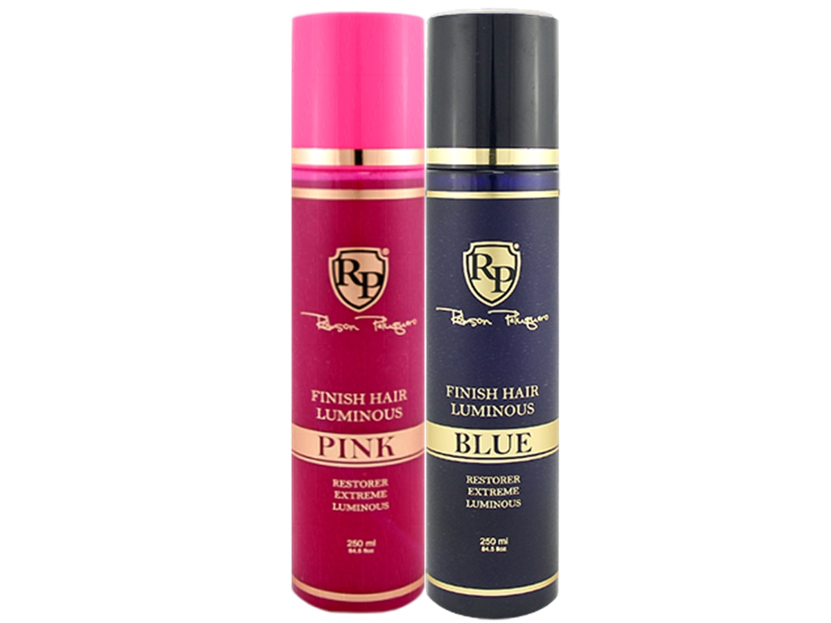 Robson Peluquero - Kit Finish Hair Luminous Pink + Blue