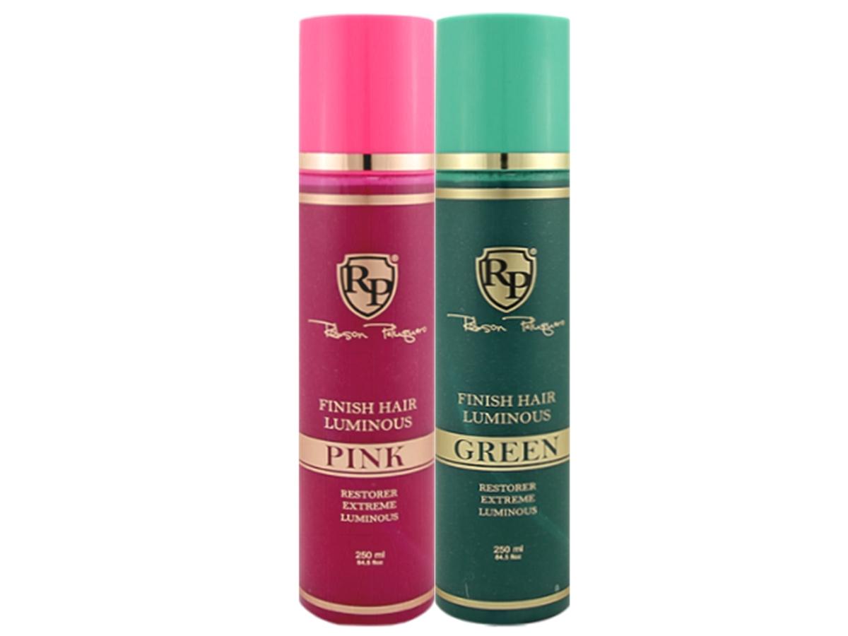 Robson Peluquero - Kit Finish Hair Luminous Pink + Green