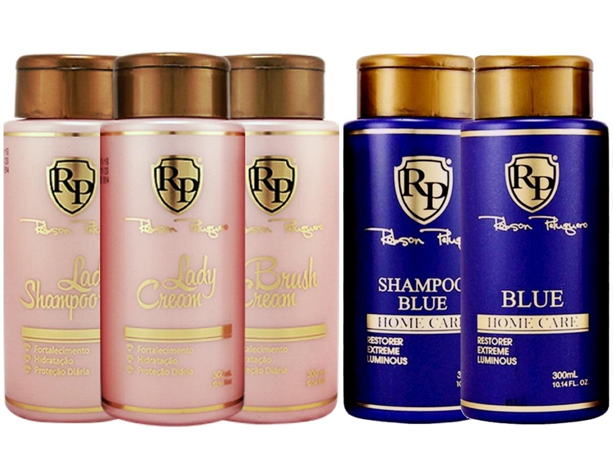 Robson Peluquero - Kit Lady Cream + Kit Matizador Blue