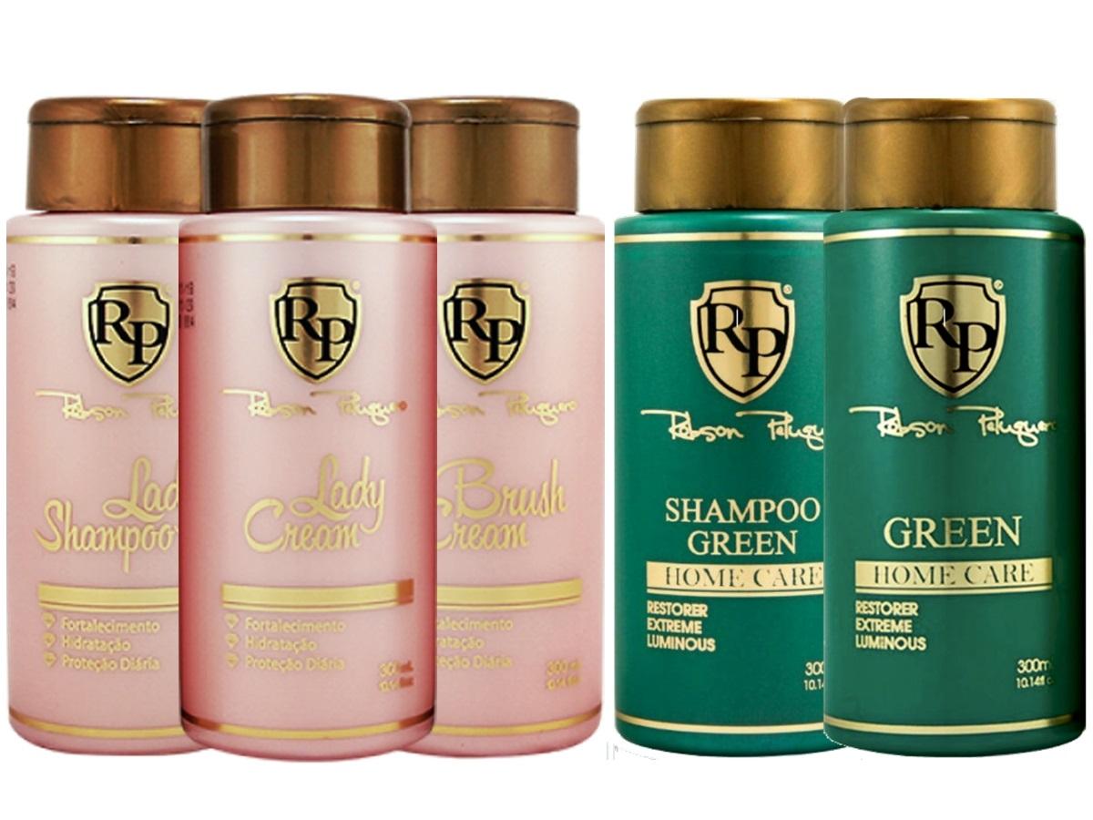 Robson Peluquero - Kit Lady Cream + Kit Matizador Green