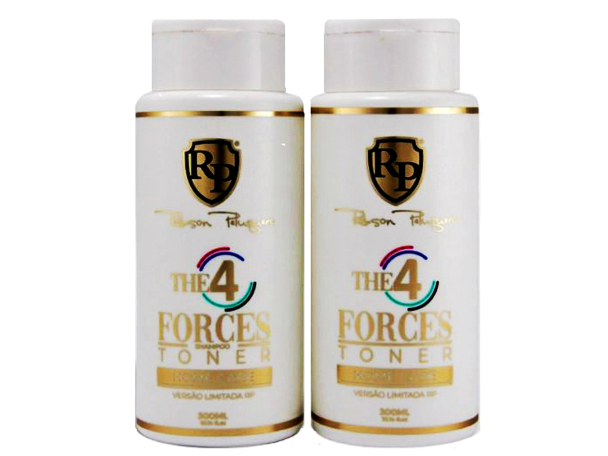 Robson Peluquero - Kit Matizador 4 Forces 2x300ml