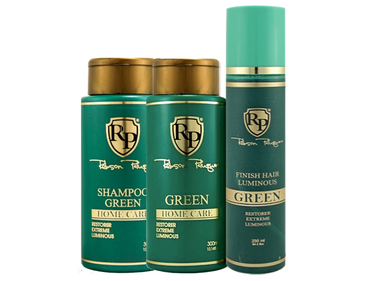 Robson Peluquero - Kit Matizador Green + Finish Hair