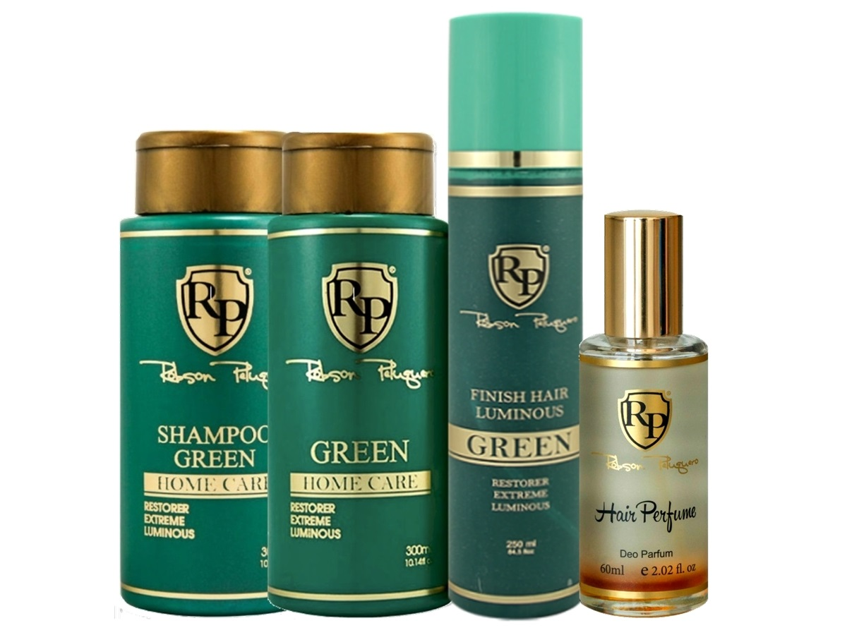 Robson Peluquero - Kit Matizador Green + Finish + Perfume
