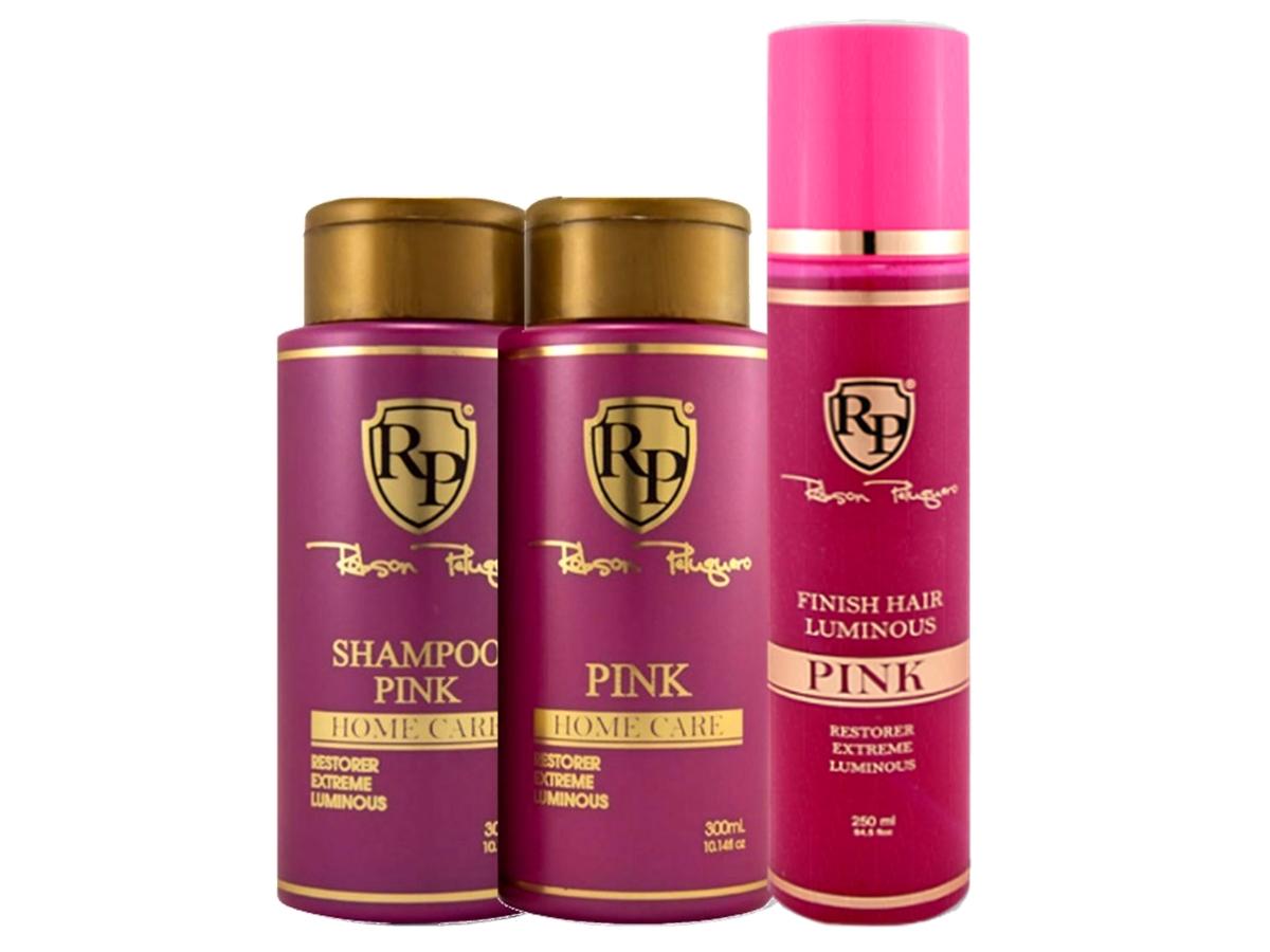 Robson Peluquero - Kit Matizador Pink + Finish Hair