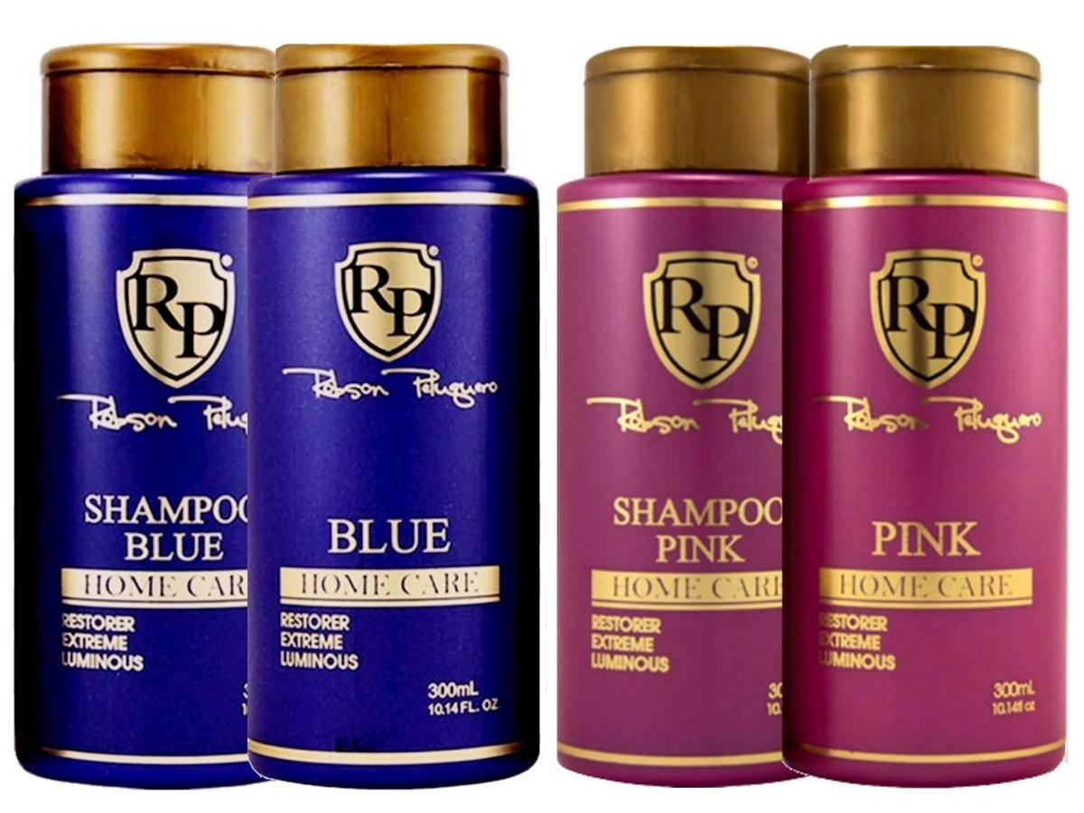 Robson Peluquero - Kit Matizador Pink + Kit Matizador Blue
