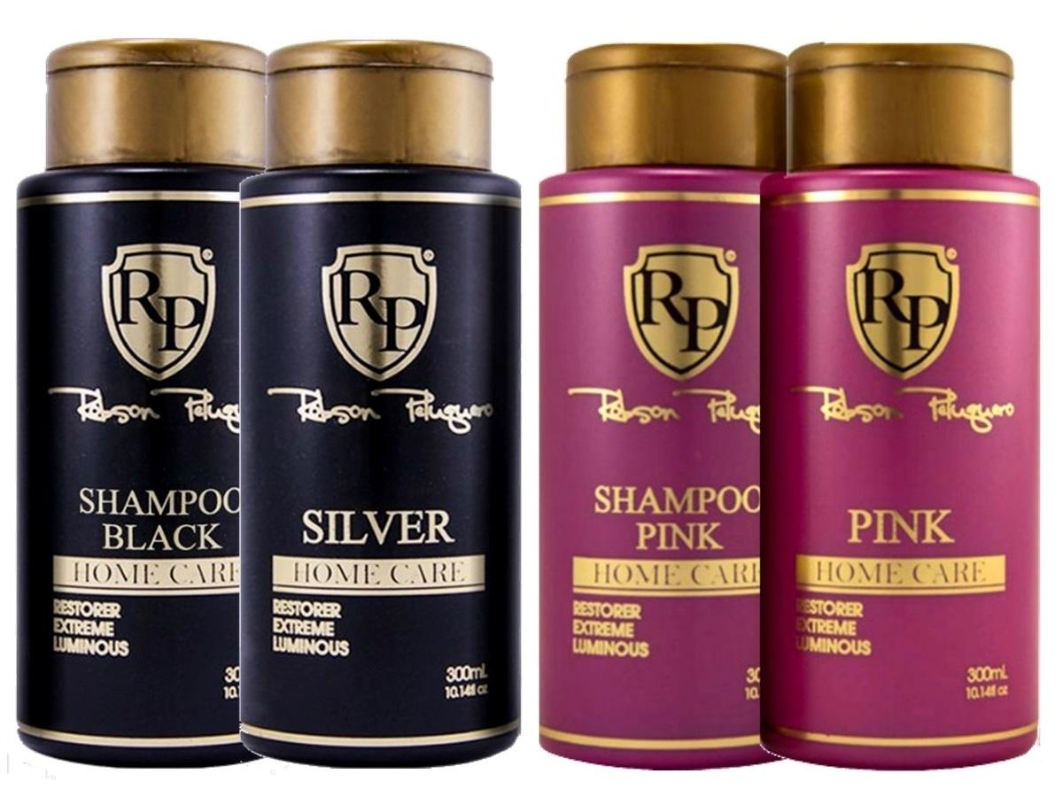 Robson Peluquero - Kit Matizador Pink + Kit Matizador Silver