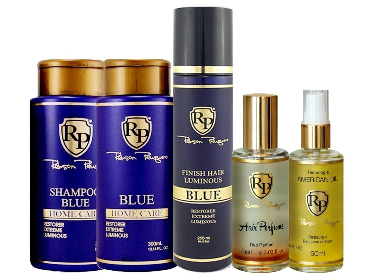 Robson Peluquero - Kit Matizador Platinum + Finish + Argan + Perfume