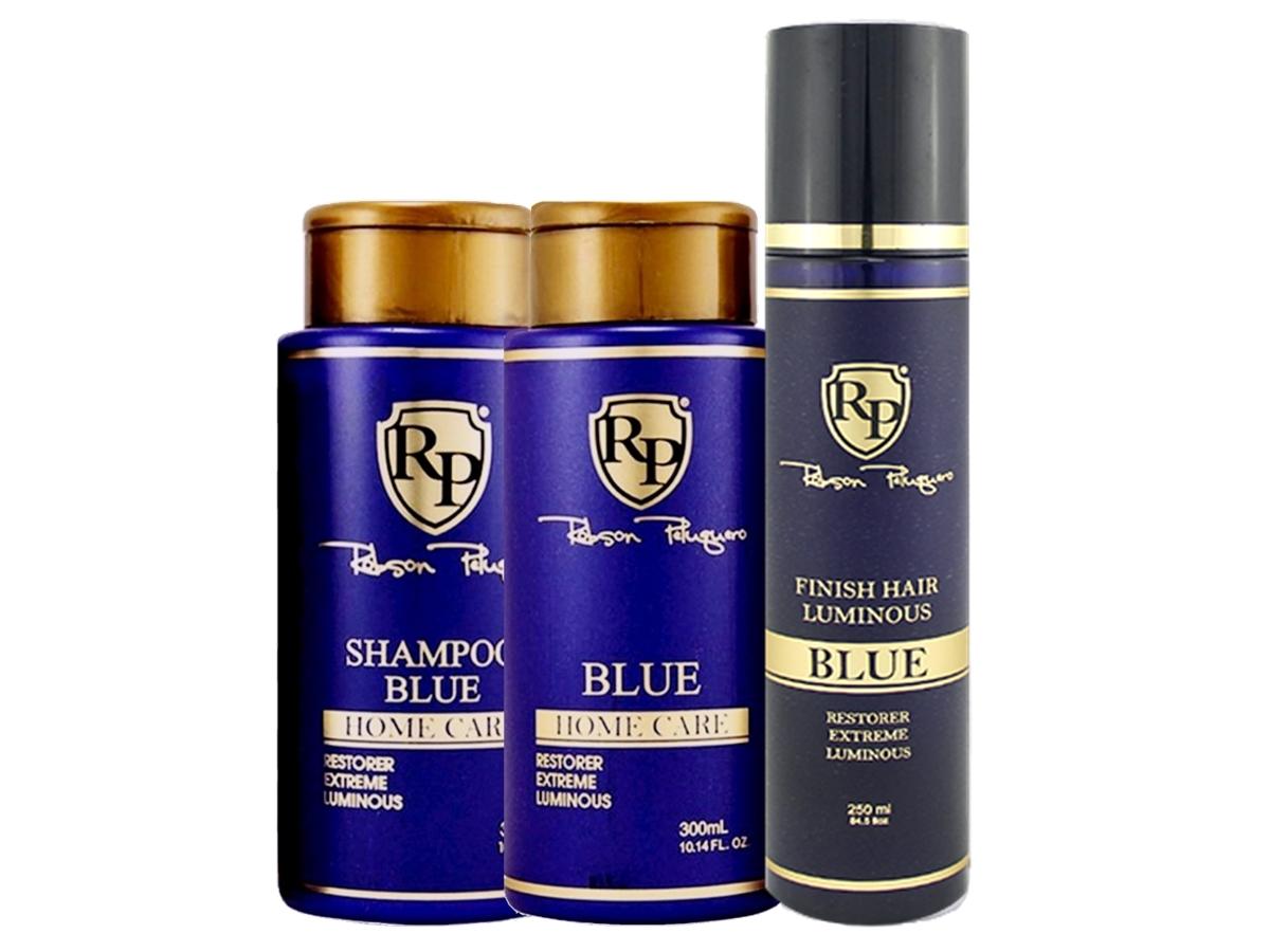 Robson Peluquero - Kit Matizador Platinum + Finish Hair