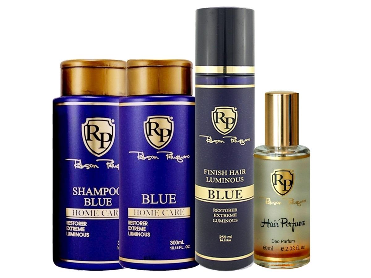 Robson Peluquero - Kit Matizador Platinum + Finish + Perfume
