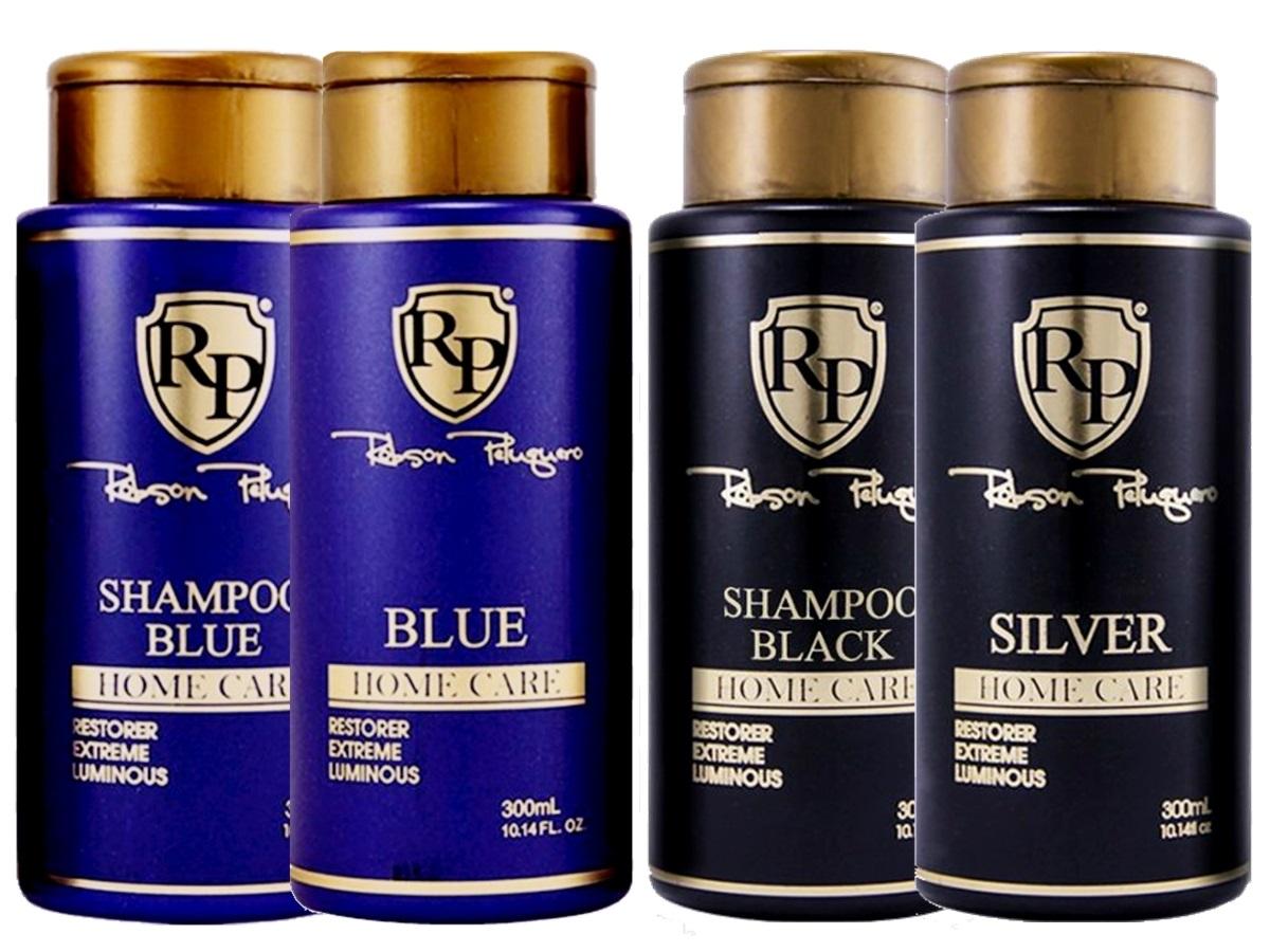 Robson Peluquero - Kit Matizador Platinum + Kit Matizador Silver