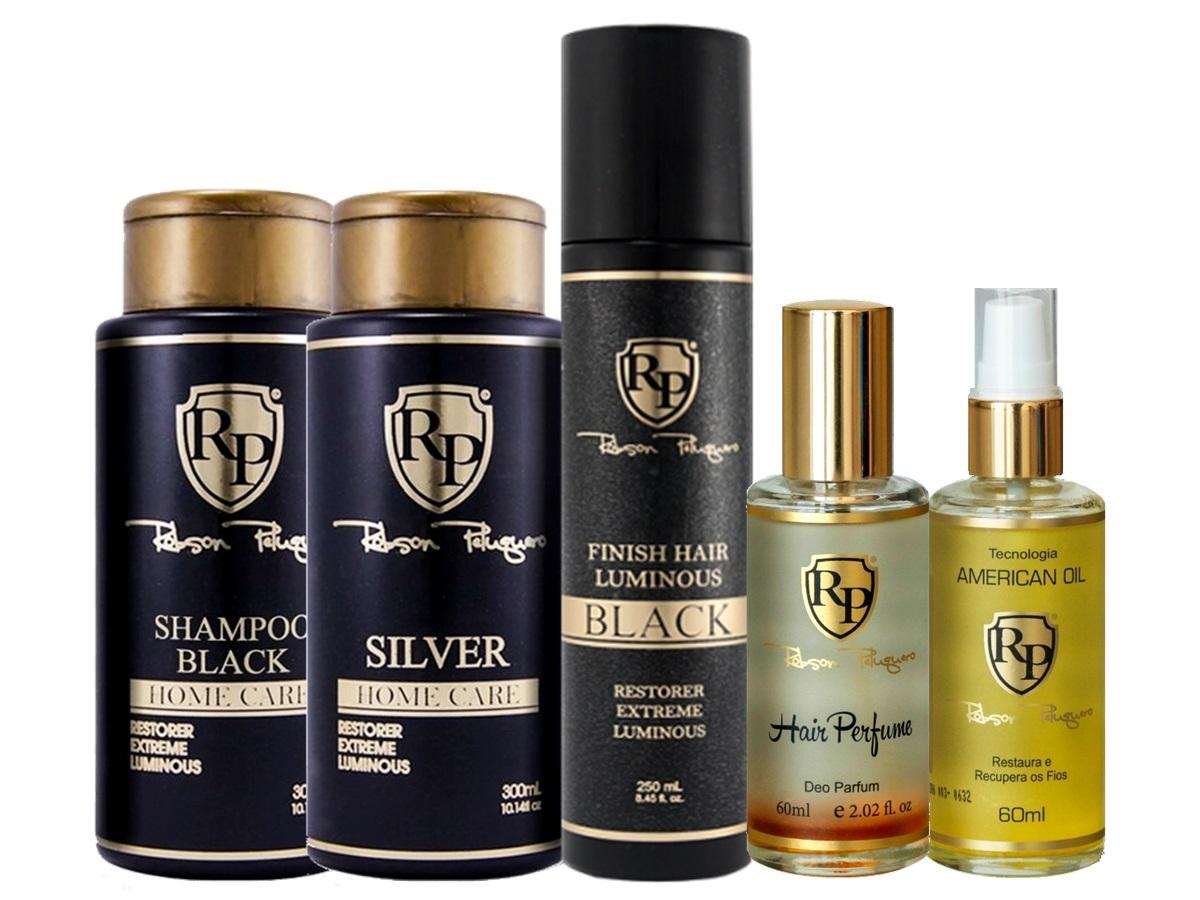 Robson Peluquero - Kit Matizador Silver + Finish + Argan + Perfume