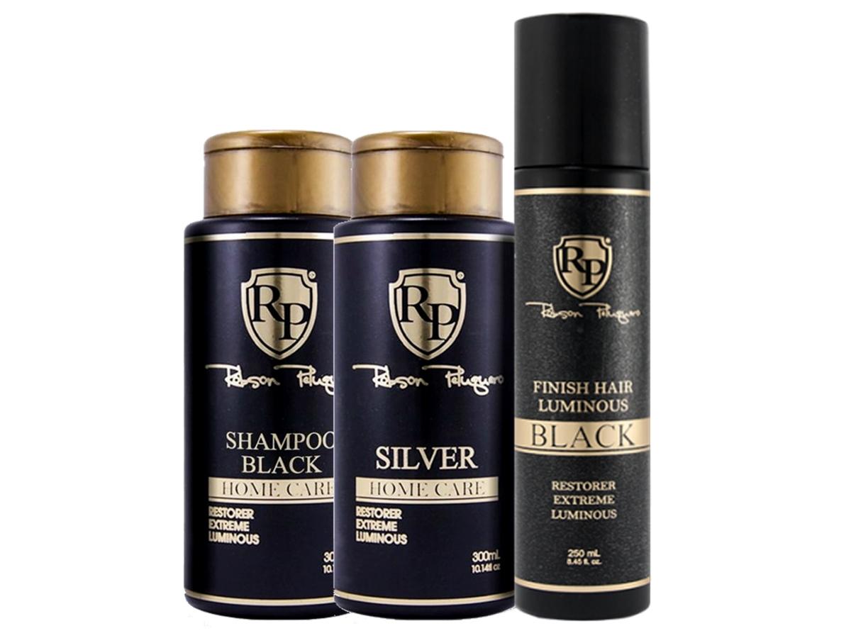 Robson Peluquero - Kit Matizador Silver + Finish Hair