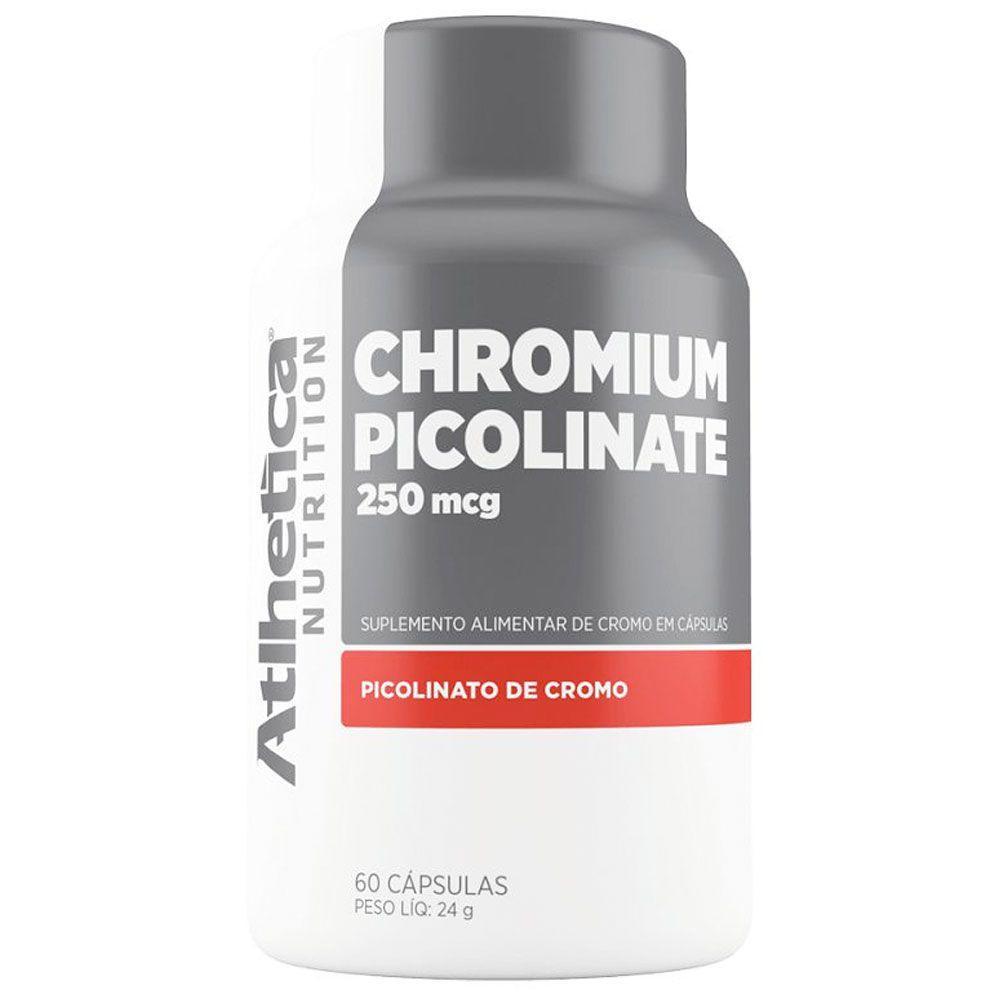 CHROMIUM PICOLINATE 250MCG (60CAPSULAS) - ATLHETICA NUTRITION