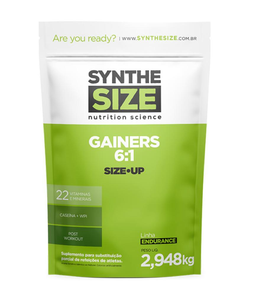 GAINERS 6:1 2,9KG AÃ?Ã?I SYNTHE SIZE