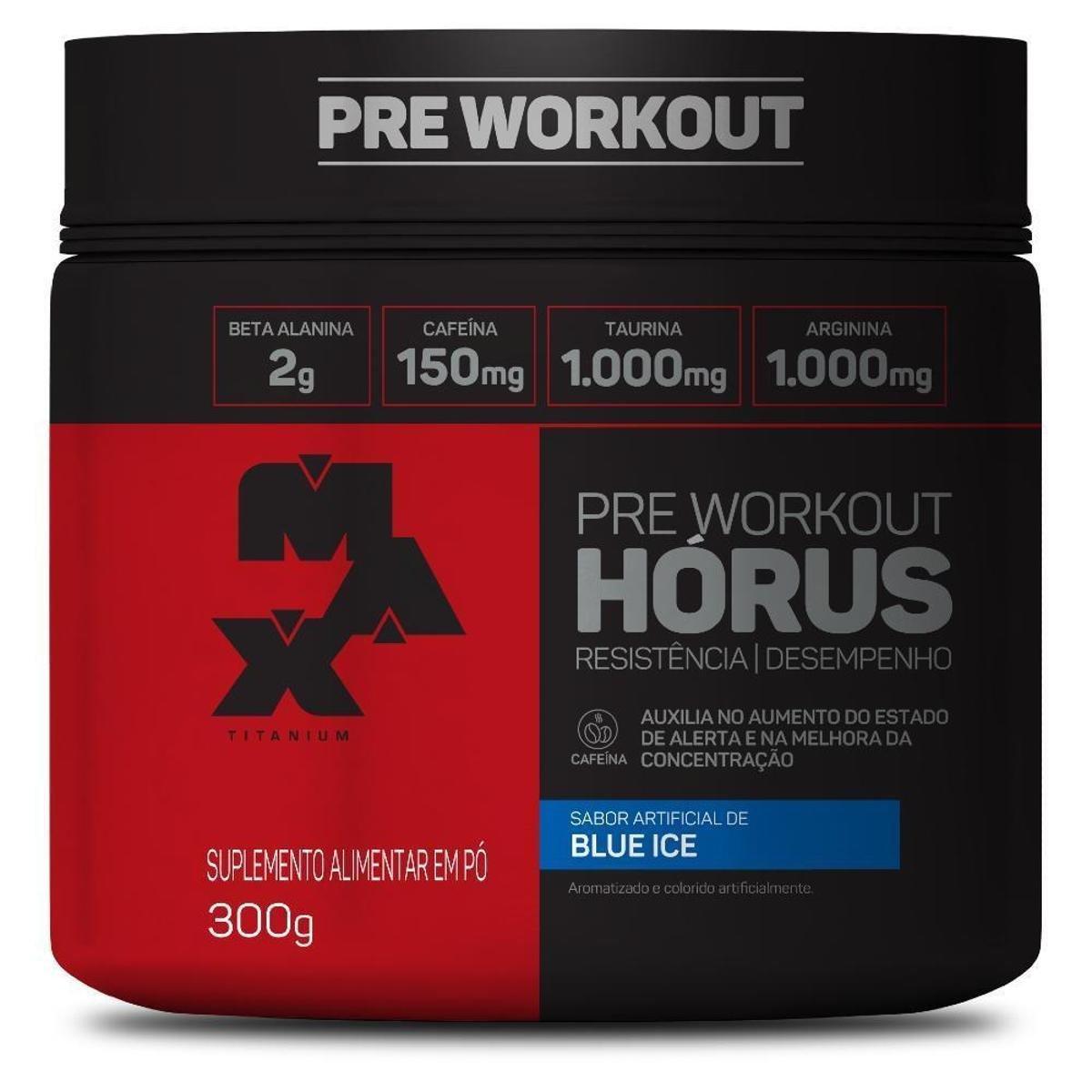 HORUS PRE - WORKOUT (300G) - MAX TITANIUM