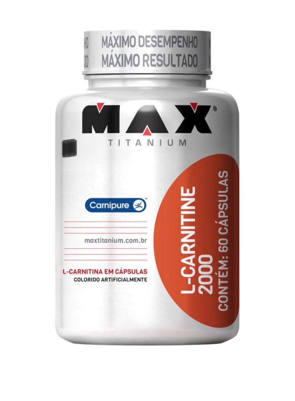 L-CARNITINE 2000 60 CAPS - MAX TITANIUM