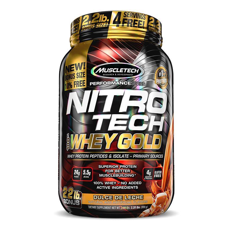 NITRO TECH WHEY GOLD (999G) - MUSCLETECH