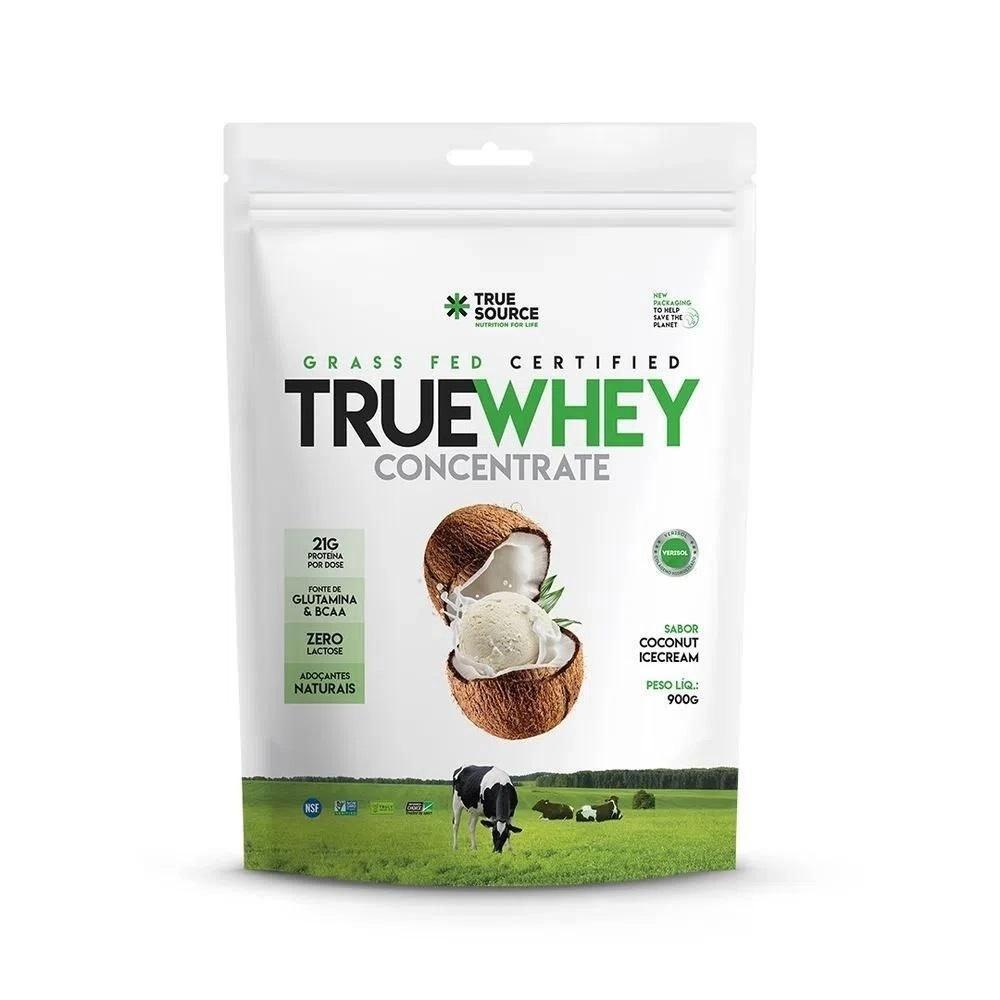 PROTEÍNA TRUE WHEY CONCENTRATE (900G) - TRUE SOURCE