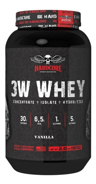 Whey 3W Hardcore 907g