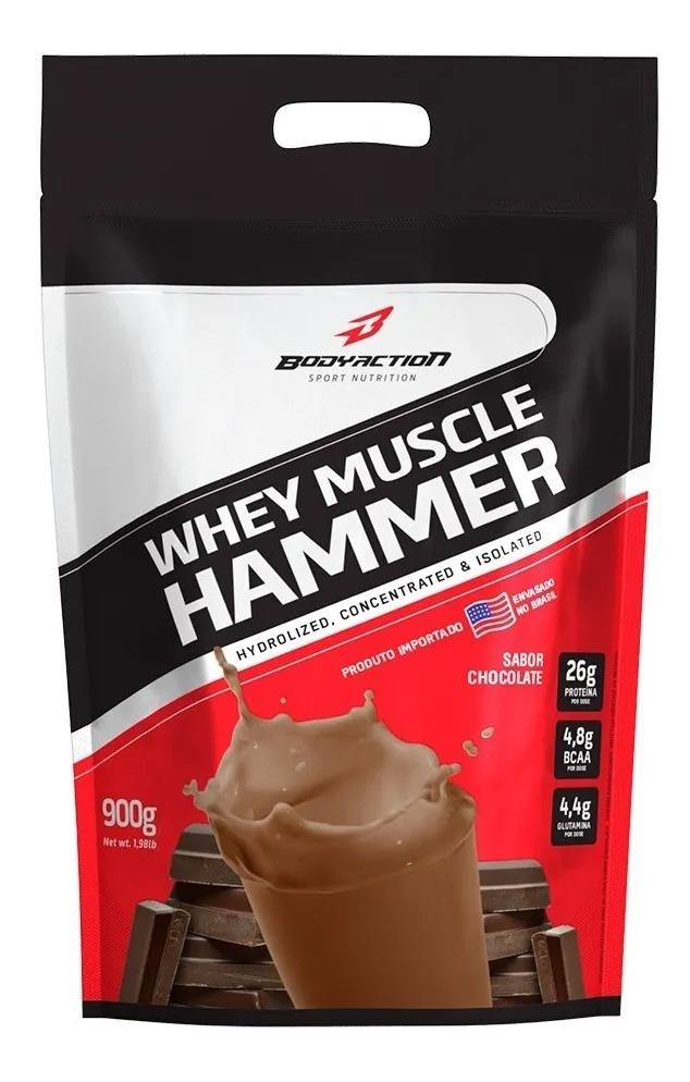 WHEY MUSCLE HAMMER REFIL (900G) - BODY ACTION