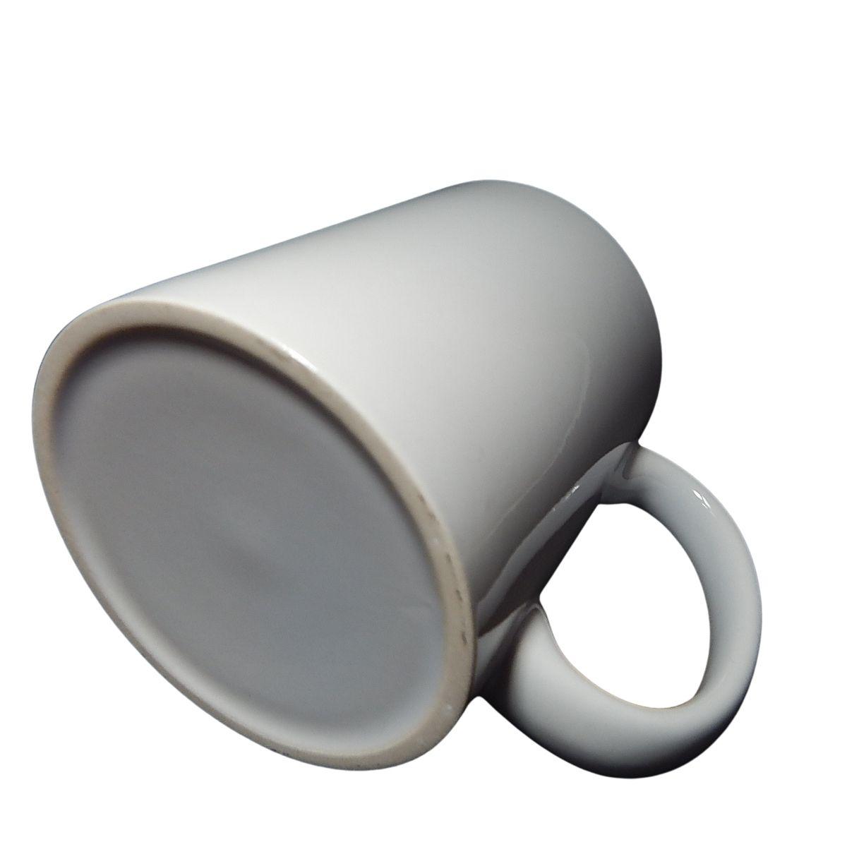 Caneca Branca Cerâmica AAA Importada 325 ml