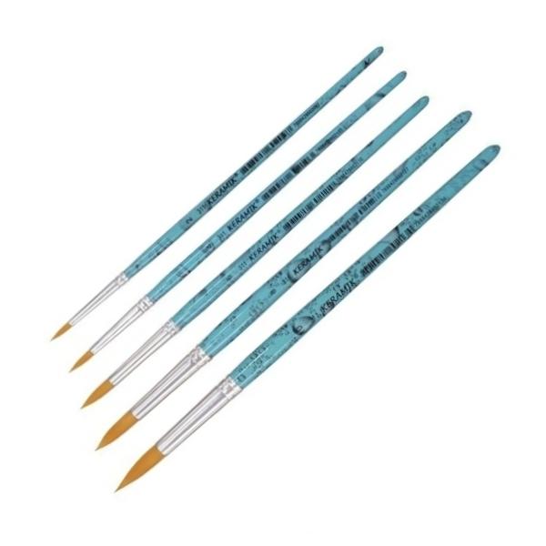 Kit Pincéis Keramik Série 311 n.s 2,4,6,8 e 12