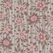 Flores Fashion Floral Marrom