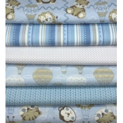 Kit Amarradinho Baby Azul - 50cm x 150cm