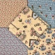 Kit Amarradinho Garden Creme - 50cm x 75cm