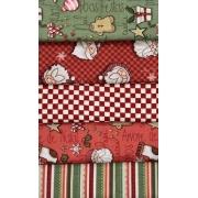 Kit Amarradinho Natal 3 - 50cm x 75cm
