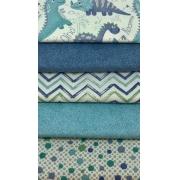 Kit Dinos Azul - 50cm x 75cm