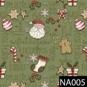 Mini Elementos Natal Verde