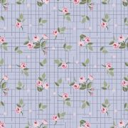 Mini floral Pássaros  lavanda