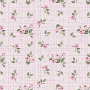 Mini Floral Pássaros  Rosa