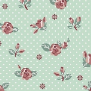 *Rosas Fundo Tiffany