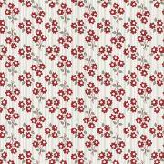 Tecido Micro Bouquet Vermelho