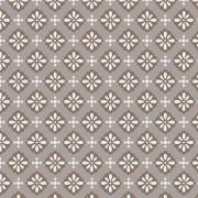 Trama Fashion Floral Marrom - 50cm x 75cm