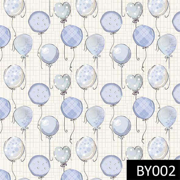 Balões Baby Azul  - Tecidos Digitais