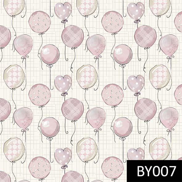Balões Baby Rosa  - Tecidos Digitais