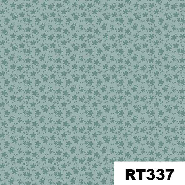 Básico Floral Azul  - Tecidos Digitais