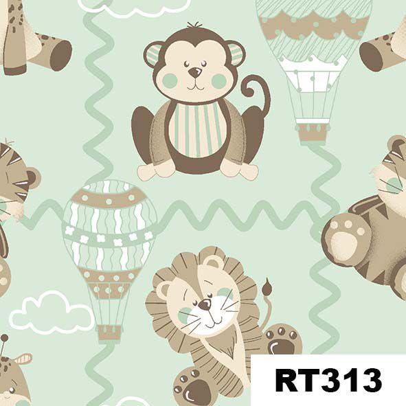 Bichinhos Baby Menta  - Tecidos Digitais