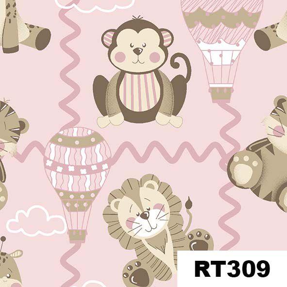 Bichinhos Baby Rosa  - Tecidos Digitais