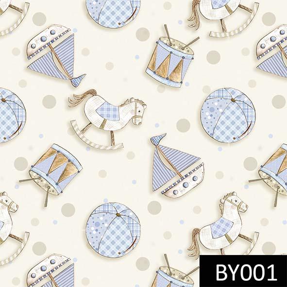 Brinquedos Baby Azul  - Tecidos Digitais